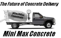 minimax concrete small concrete mixers the future in concrete delivery