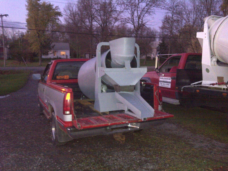 Currentprojects on Concrete Mixer Trailer Rental